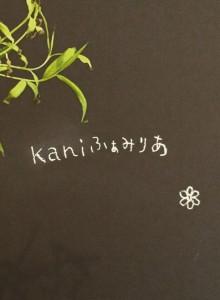 kaniふぁみりあ・お花の教室・ギフト、雑貨とギャラリー