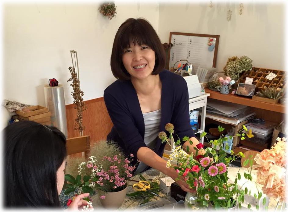 笑顔の優しいかにひろ子先生♡
