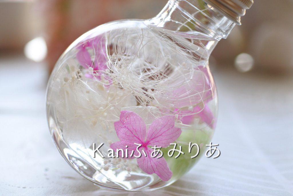 桜のハーバリウム. 桜まつり